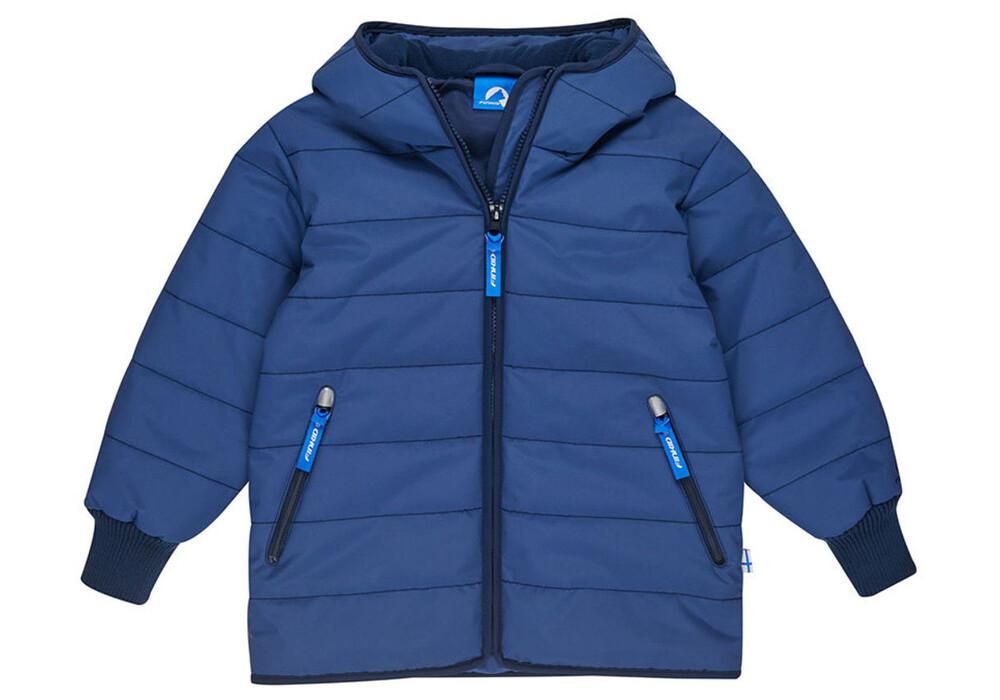 Finkid Kari Arctic Winter Jacket Kids Denim/Navy | campz.de